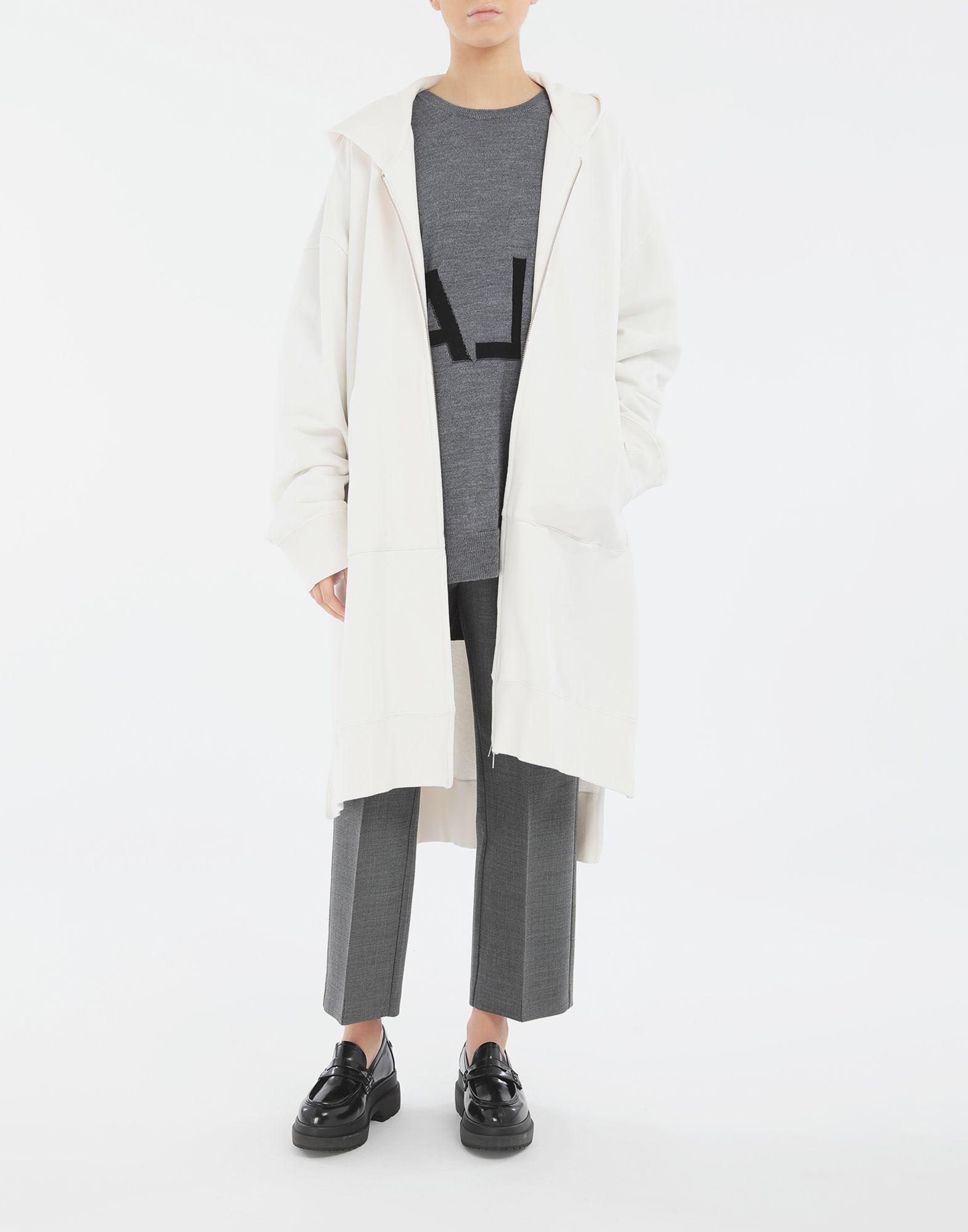 MM6 MAISON MARGIELA Long hooded sweatshirt Hooded sweatshirt Woman d
