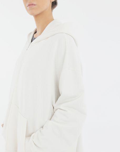 MM6 MAISON MARGIELA Long hooded sweatshirt Hooded sweatshirt Woman a