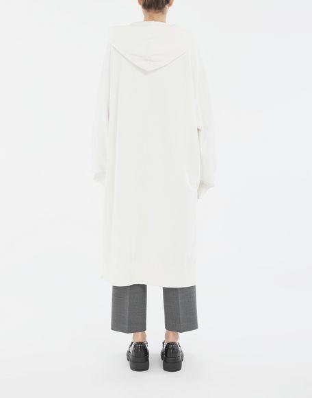 MM6 MAISON MARGIELA Long hooded sweatshirt Hooded sweatshirt Woman e