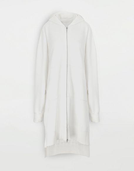 MM6 MAISON MARGIELA Long hooded sweatshirt Hooded sweatshirt Woman f