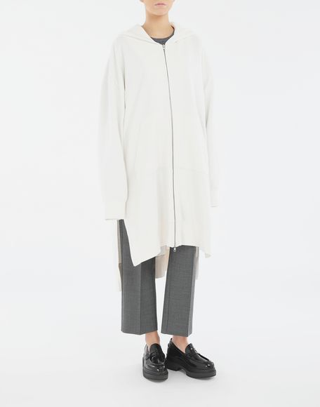 MM6 MAISON MARGIELA Long hooded sweatshirt Hooded sweatshirt Woman r