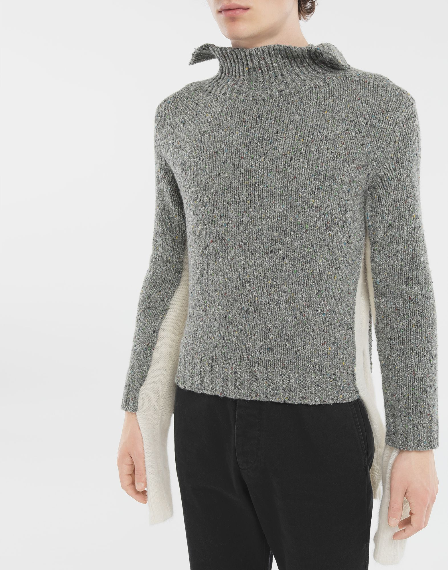 MAISON MARGIELA Double layer sweater High neck Man a