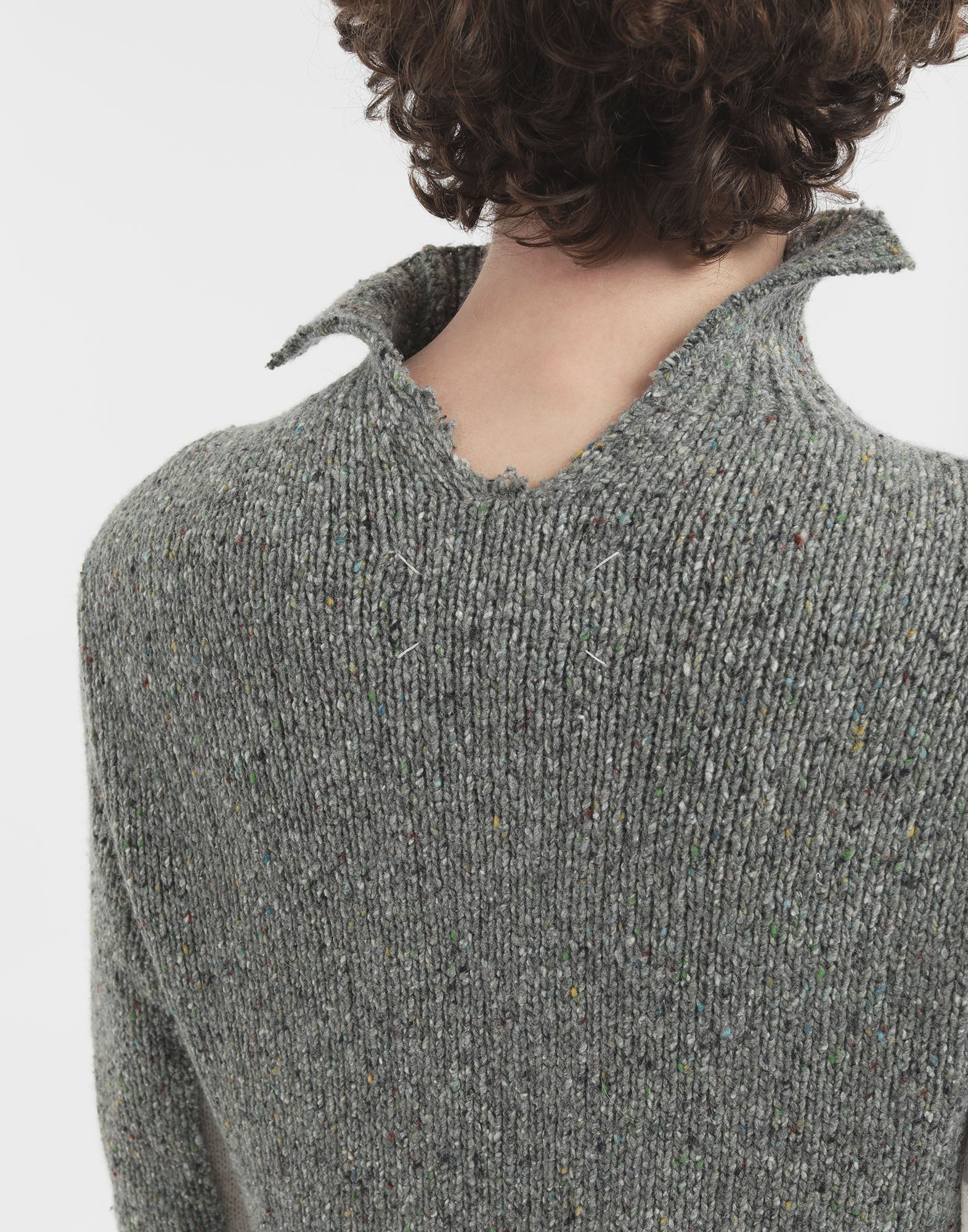 MAISON MARGIELA Double layer sweater High neck Man b