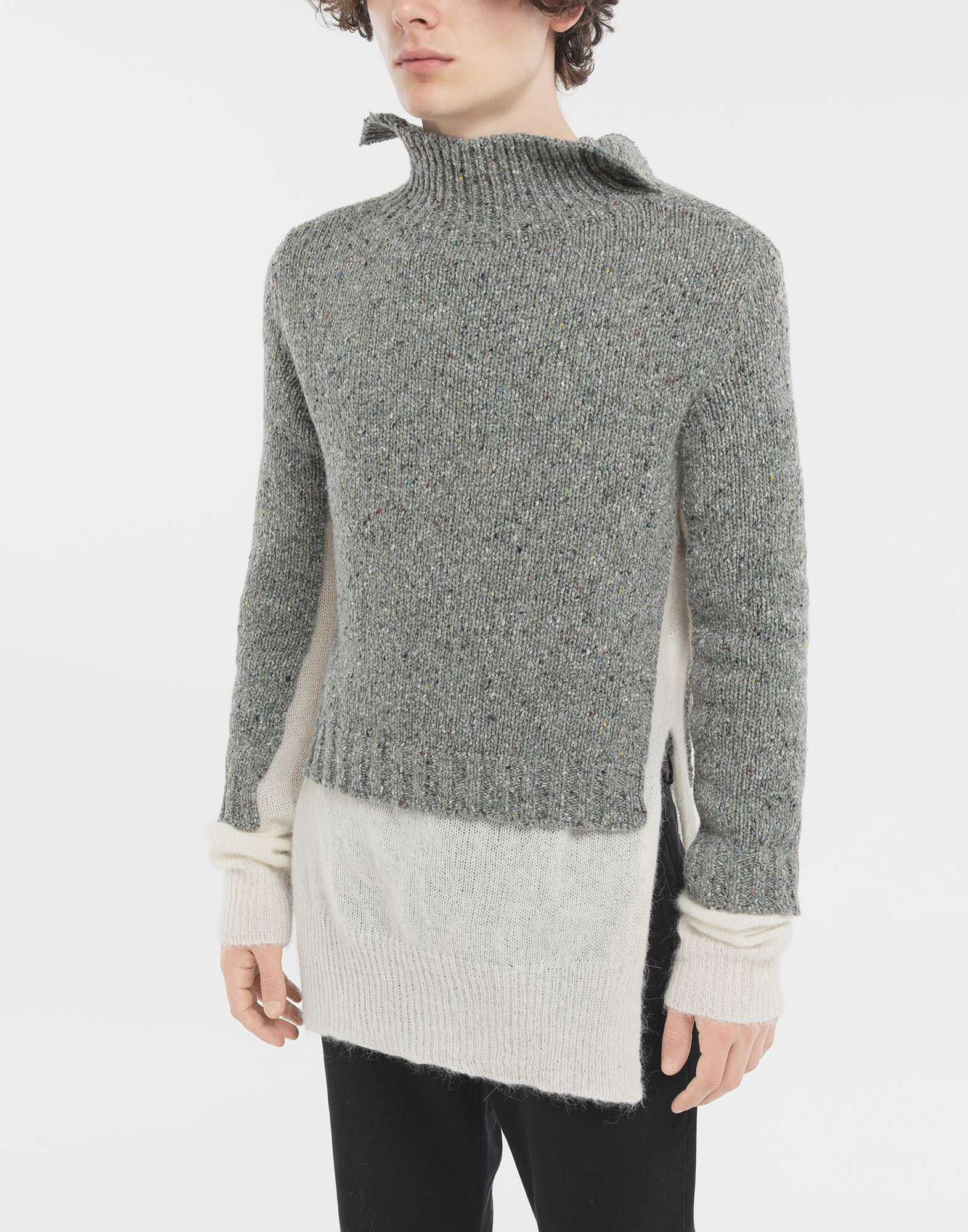MAISON MARGIELA Double layer sweater High neck Man r