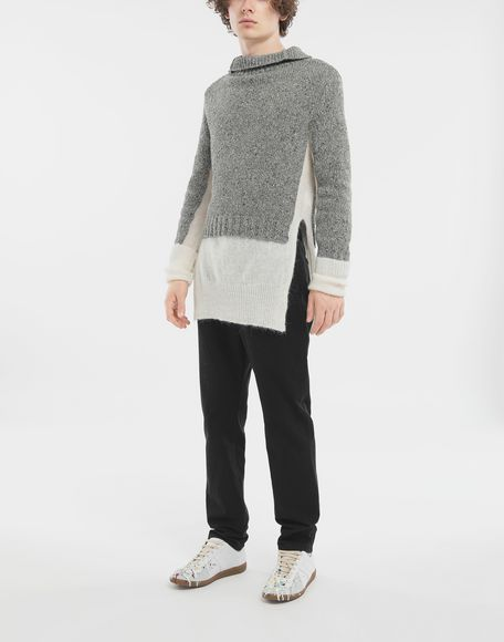 MAISON MARGIELA Double layer sweater High neck Man d