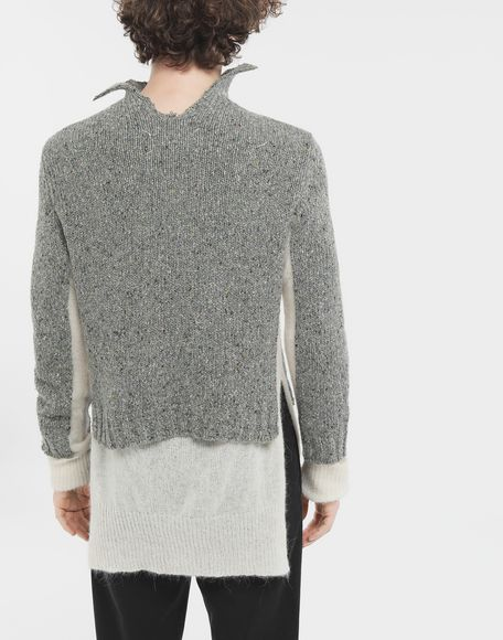 MAISON MARGIELA Double layer sweater High neck Man e