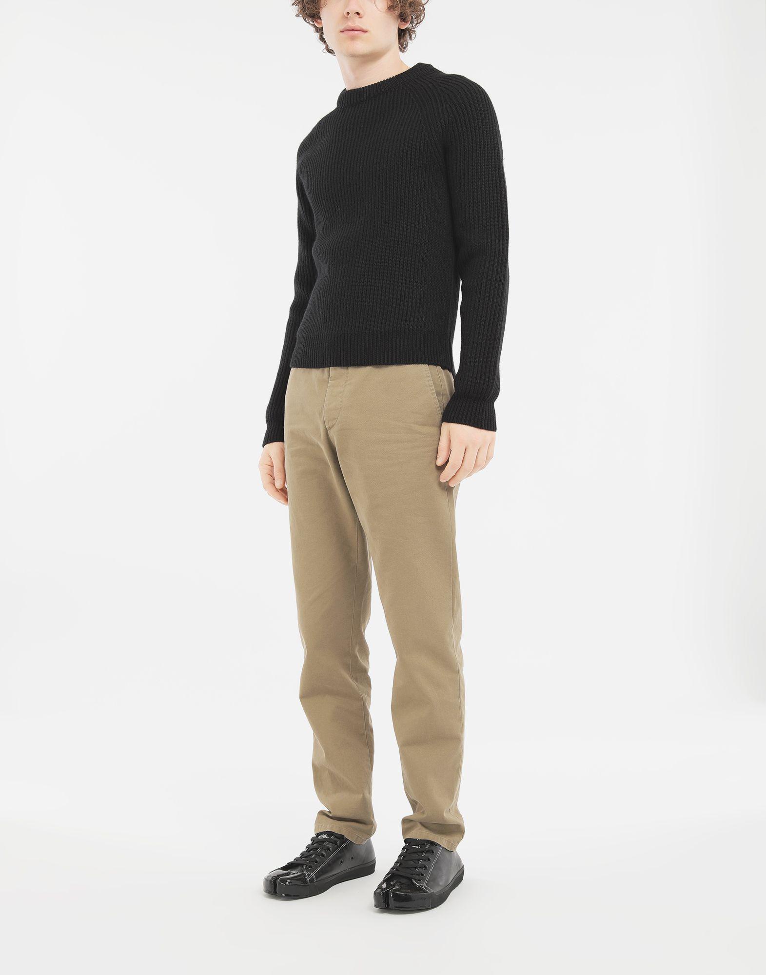 MAISON MARGIELA Ribbed sweater Crewneck Man d