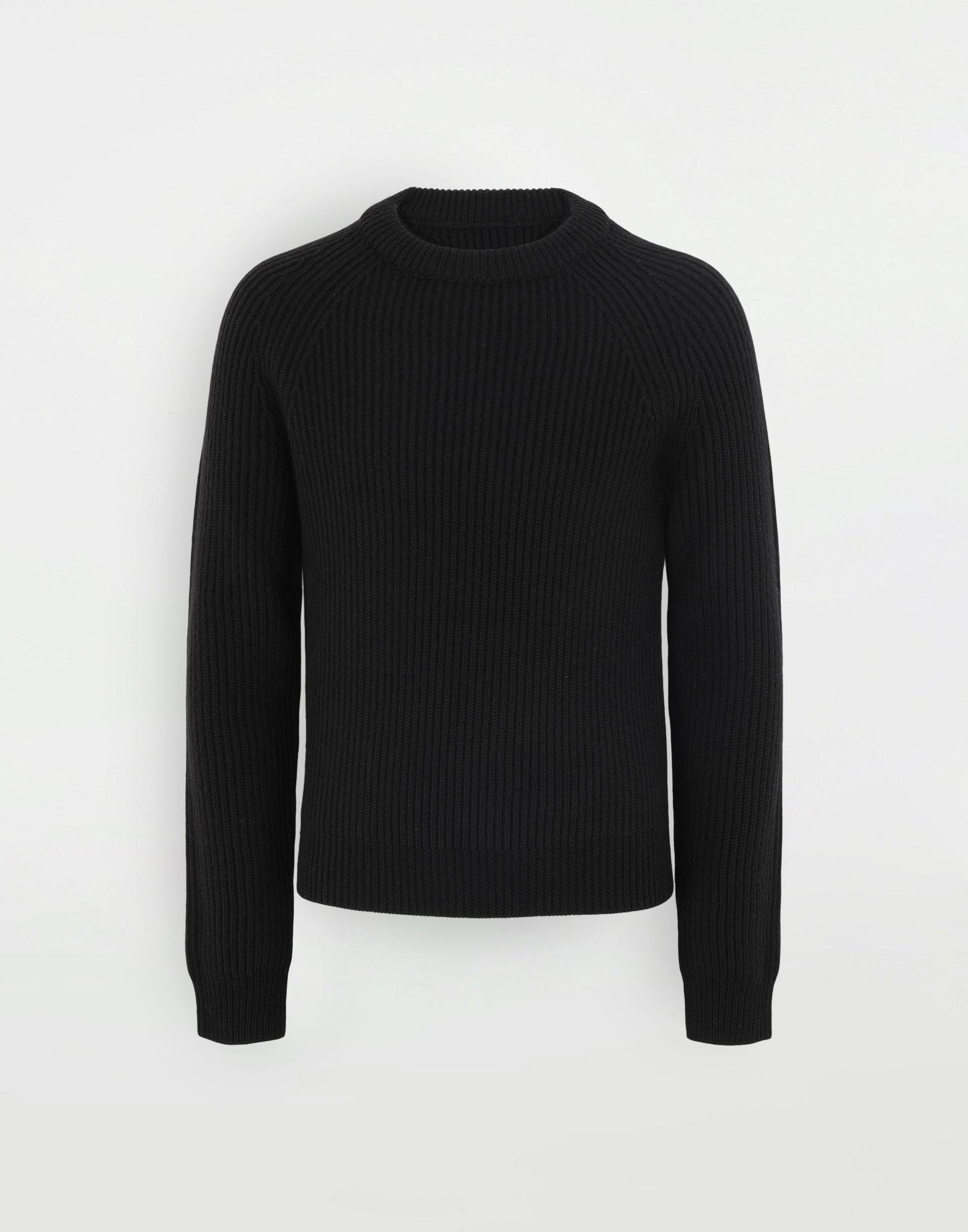 MAISON MARGIELA Ribbed sweater Crewneck Man f
