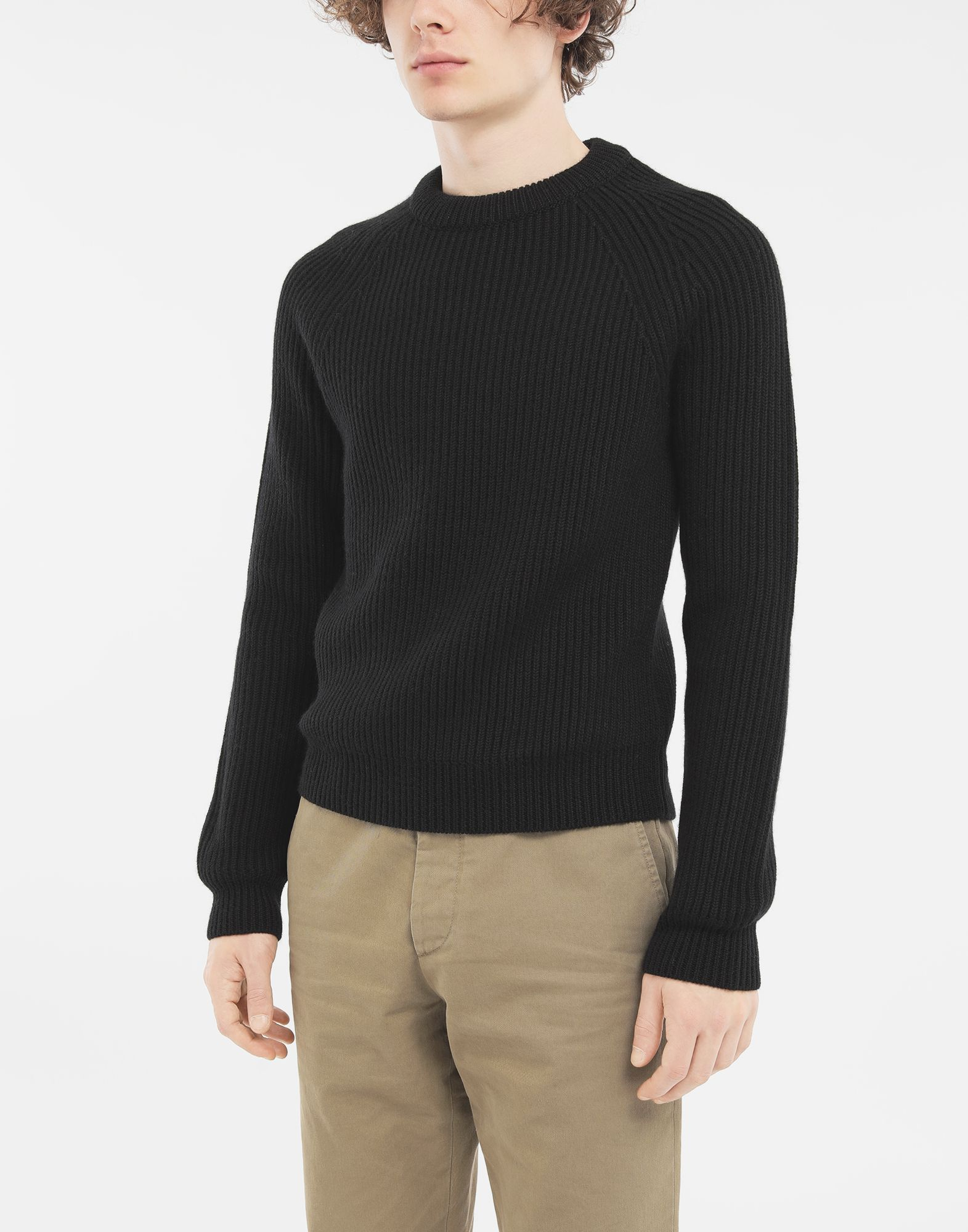 MAISON MARGIELA Ribbed sweater Crewneck Man r