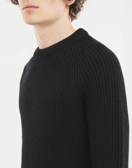 MAISON MARGIELA Ribbed sweater Crewneck Man a
