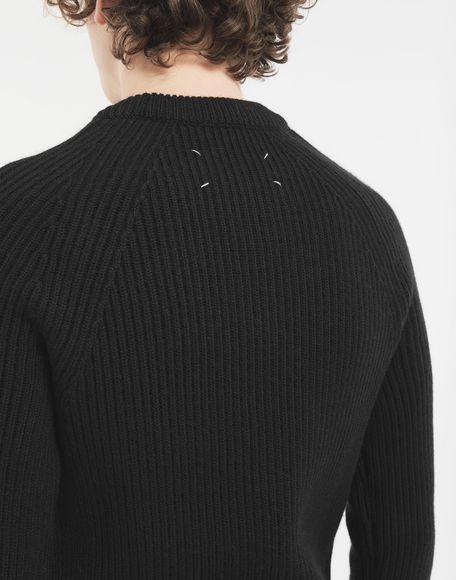 MAISON MARGIELA Ribbed sweater Crewneck Man b