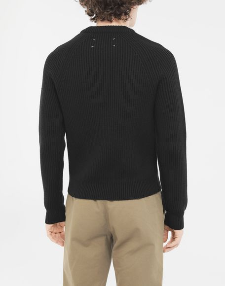 MAISON MARGIELA Ribbed sweater Crewneck Man e