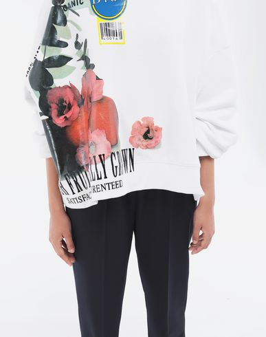 KNITWEAR Fruit sweatshirt White