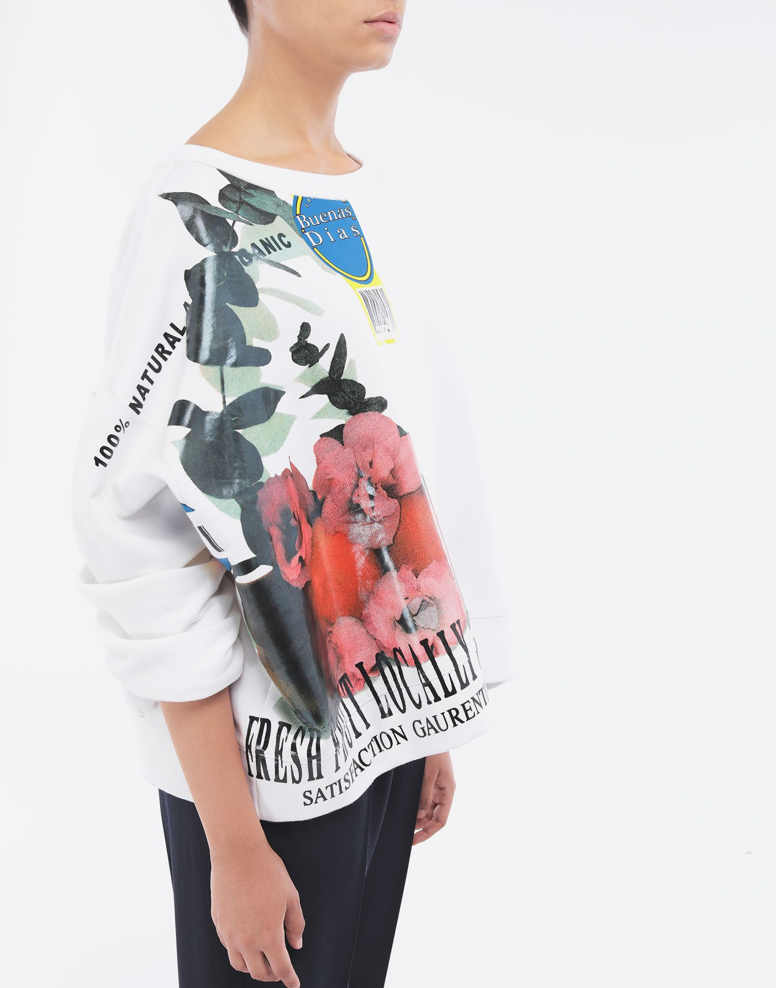 MAISON MARGIELA Fruit sweatshirt Sweatshirt Woman a