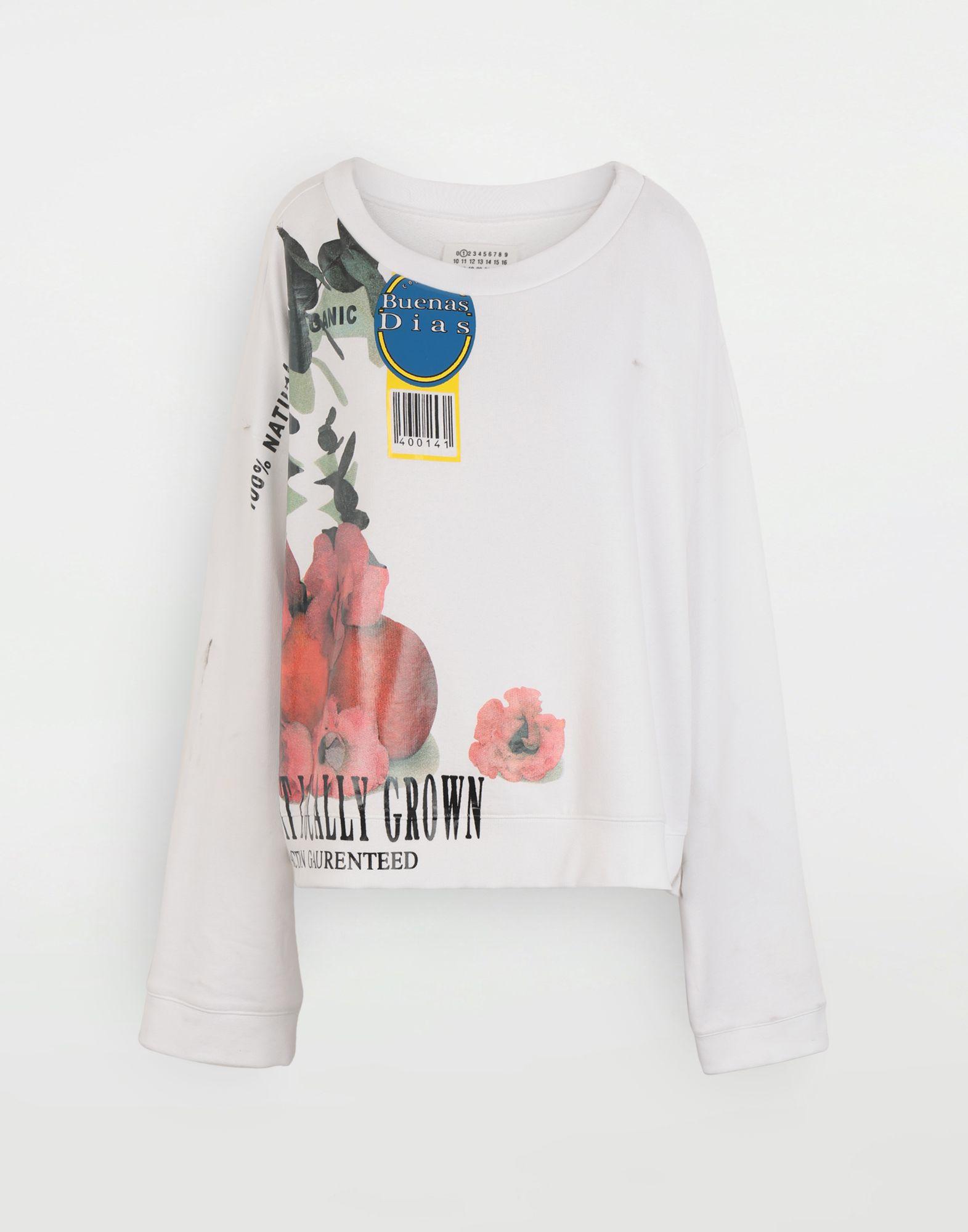 MAISON MARGIELA Fruit sweatshirt Sweatshirt Woman f