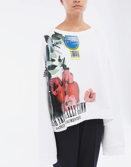 MAISON MARGIELA Fruit sweatshirt Sweatshirt Woman r