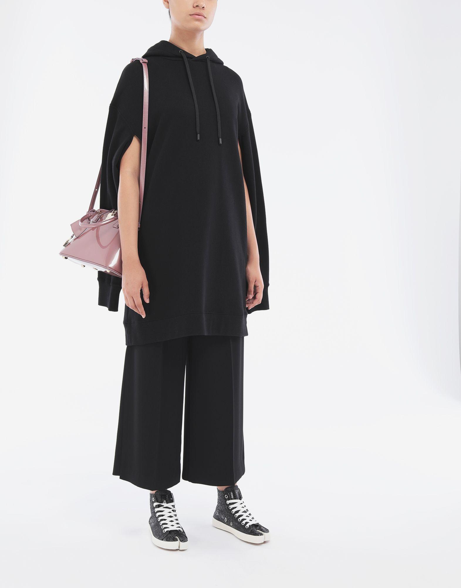 MAISON MARGIELA Long-line hooded sweatshirt Hooded sweatshirt Woman d
