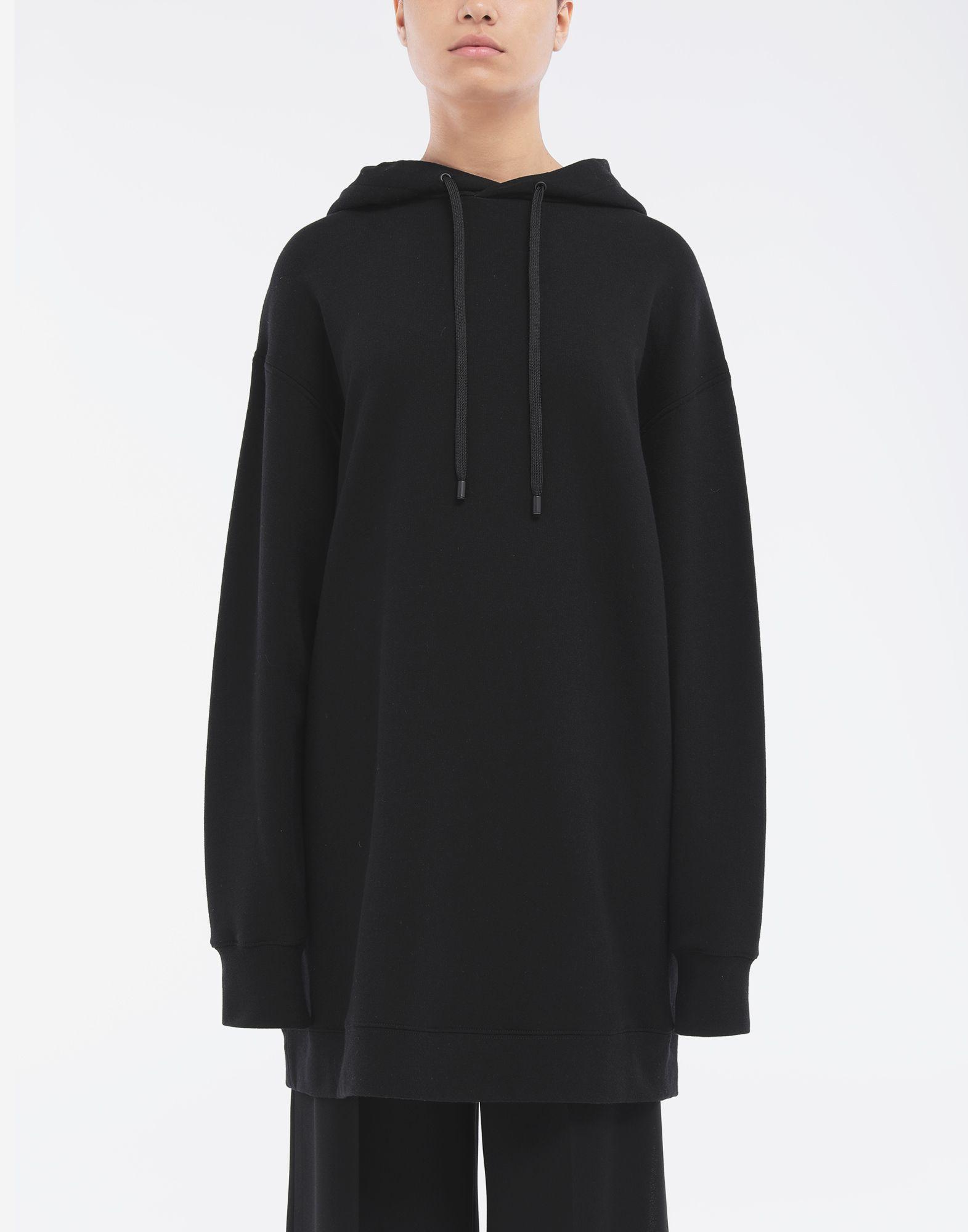 MAISON MARGIELA Long-line hooded sweatshirt Hooded sweatshirt Woman r