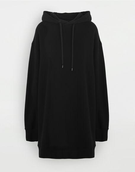 MAISON MARGIELA Long-line hooded sweatshirt Hooded sweatshirt Woman f
