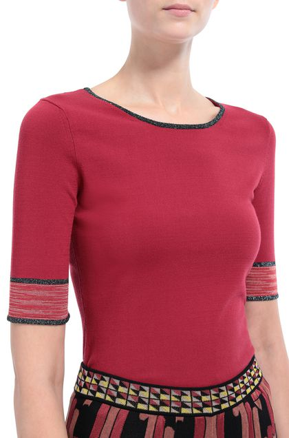 M MISSONI Jumper Garnet Woman - Front