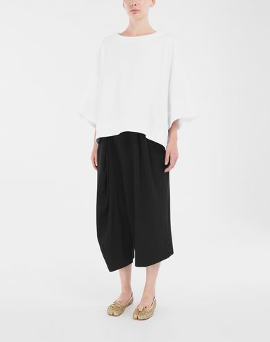 KNITWEAR Oversized top White