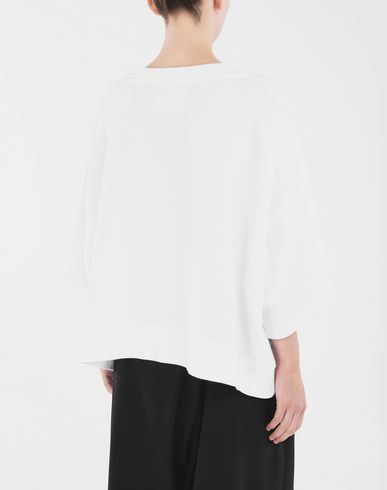 SWEATERS Oversized top White
