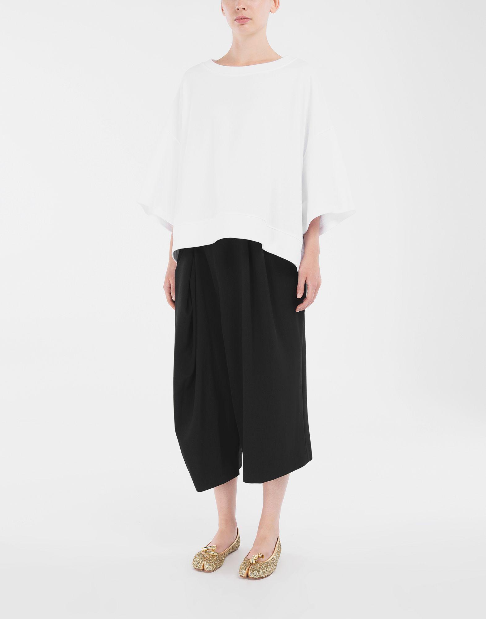 MAISON MARGIELA Camiseta oversize Sudadera Mujer d