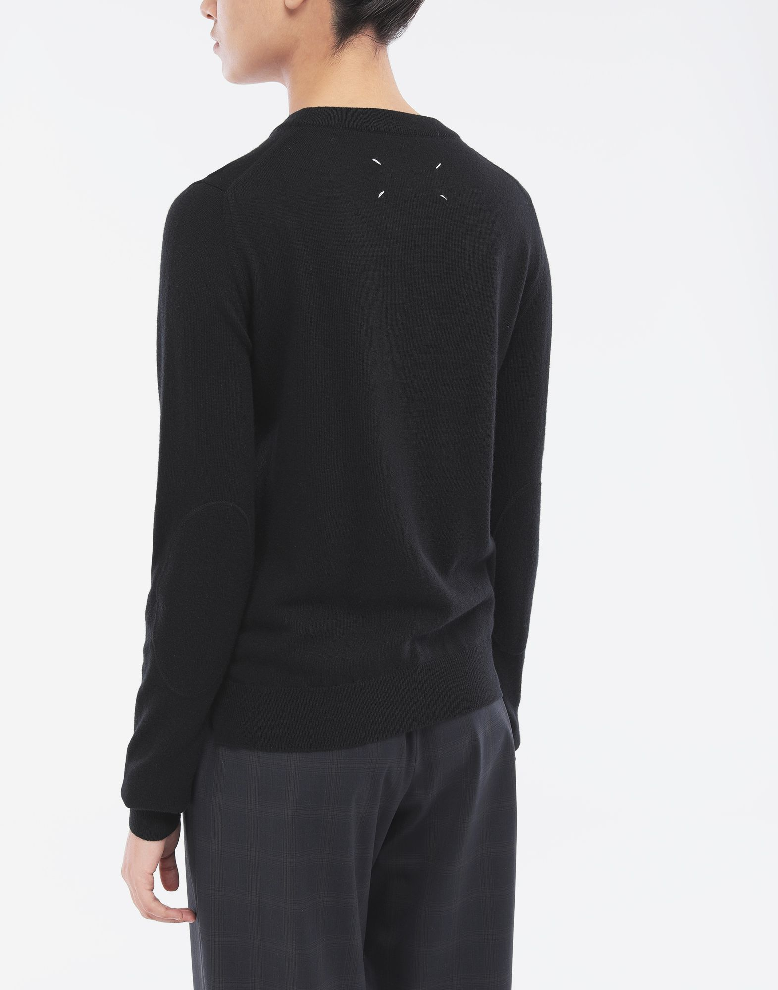 MAISON MARGIELA Elbow patch sweater Crewneck Woman e