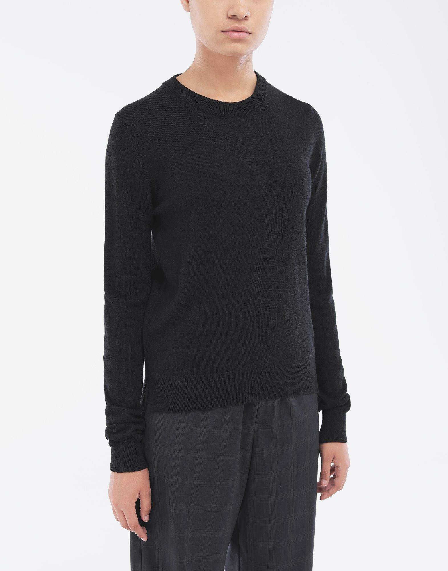 MAISON MARGIELA Elbow patch sweater Crewneck Woman r