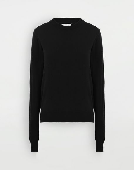 MAISON MARGIELA Elbow patch sweater Crewneck Woman f