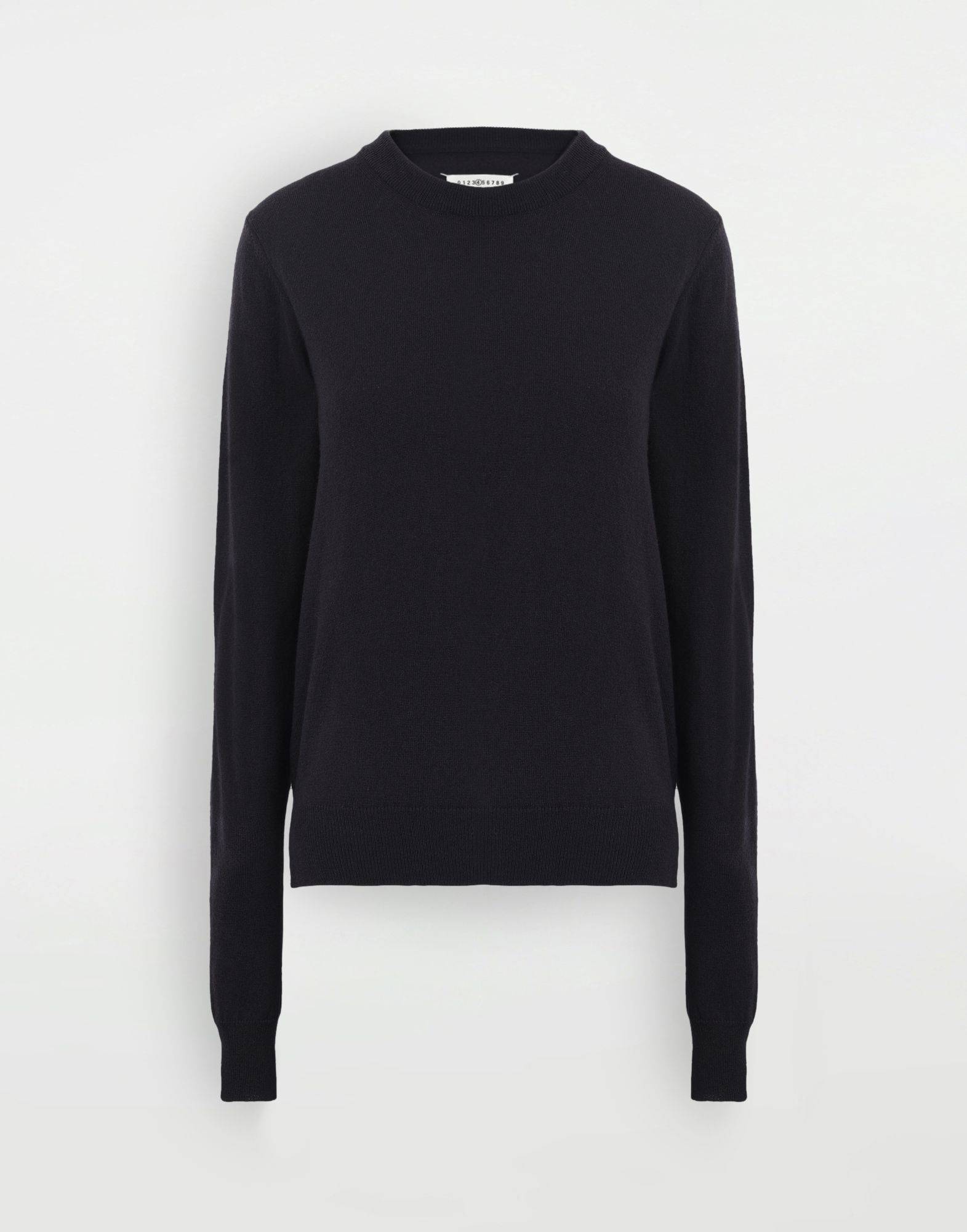 MAISON MARGIELA Elbow patch sweater Long sleeve sweater Woman f