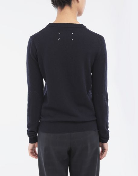 MAISON MARGIELA Elbow patch sweater Long sleeve sweater Woman e
