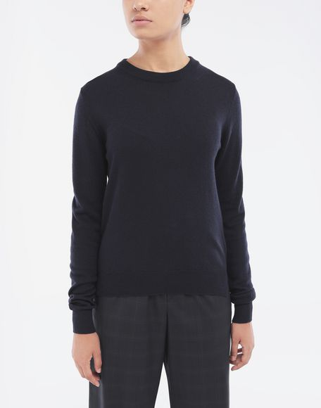 MAISON MARGIELA Elbow patch sweater Long sleeve sweater Woman r
