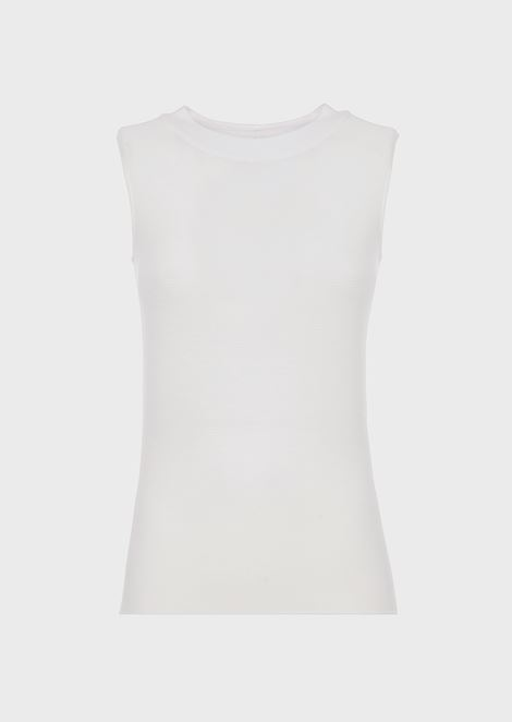 GIORGIO ARMANI Knitted Top Woman d