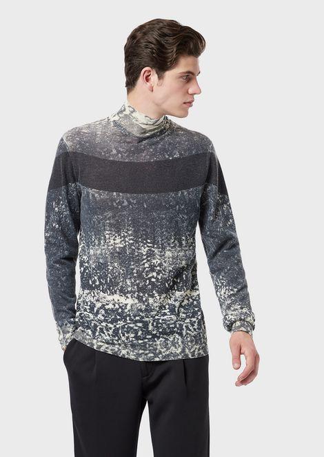 myydään maailmanlaajuisesti maksaa viehätysvoimaa laaja valikoima Men's Knitwear | Emporio Armani