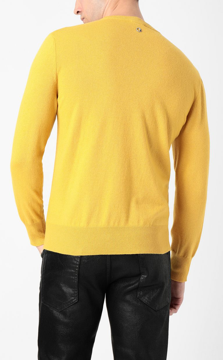 JUST CAVALLI Justice pullover Crewneck sweater Man a