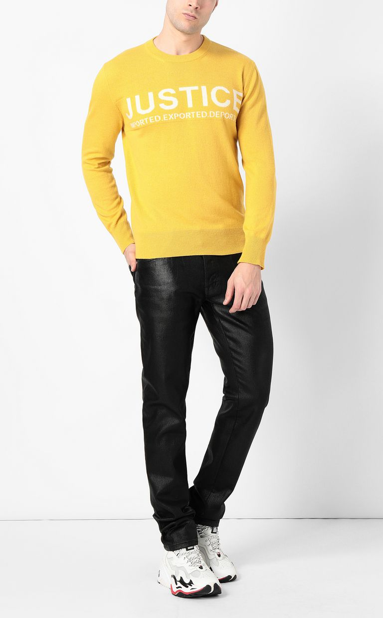JUST CAVALLI Justice pullover Crewneck sweater Man d