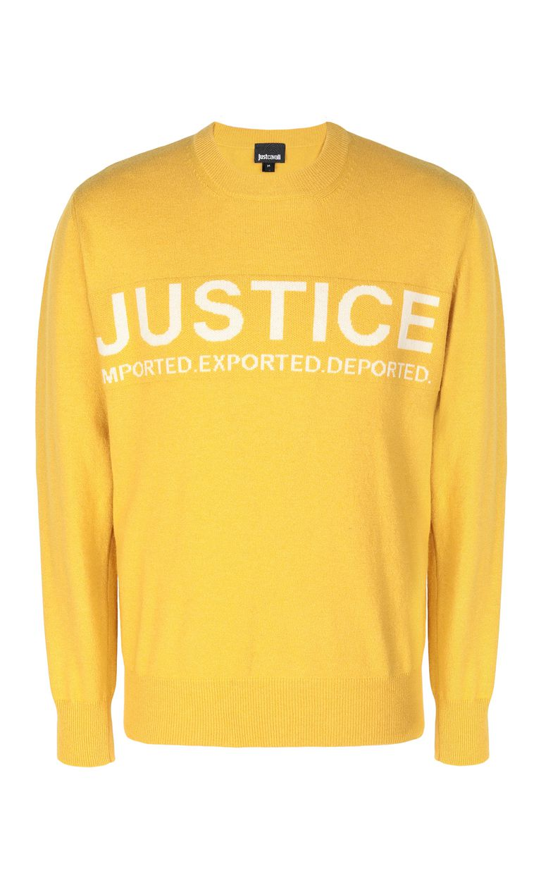 JUST CAVALLI Justice pullover Crewneck sweater Man f
