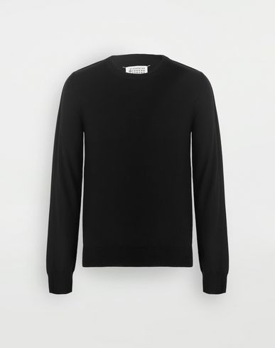 MAISON MARGIELA Outline wool sweater Crewneck sweater Man f