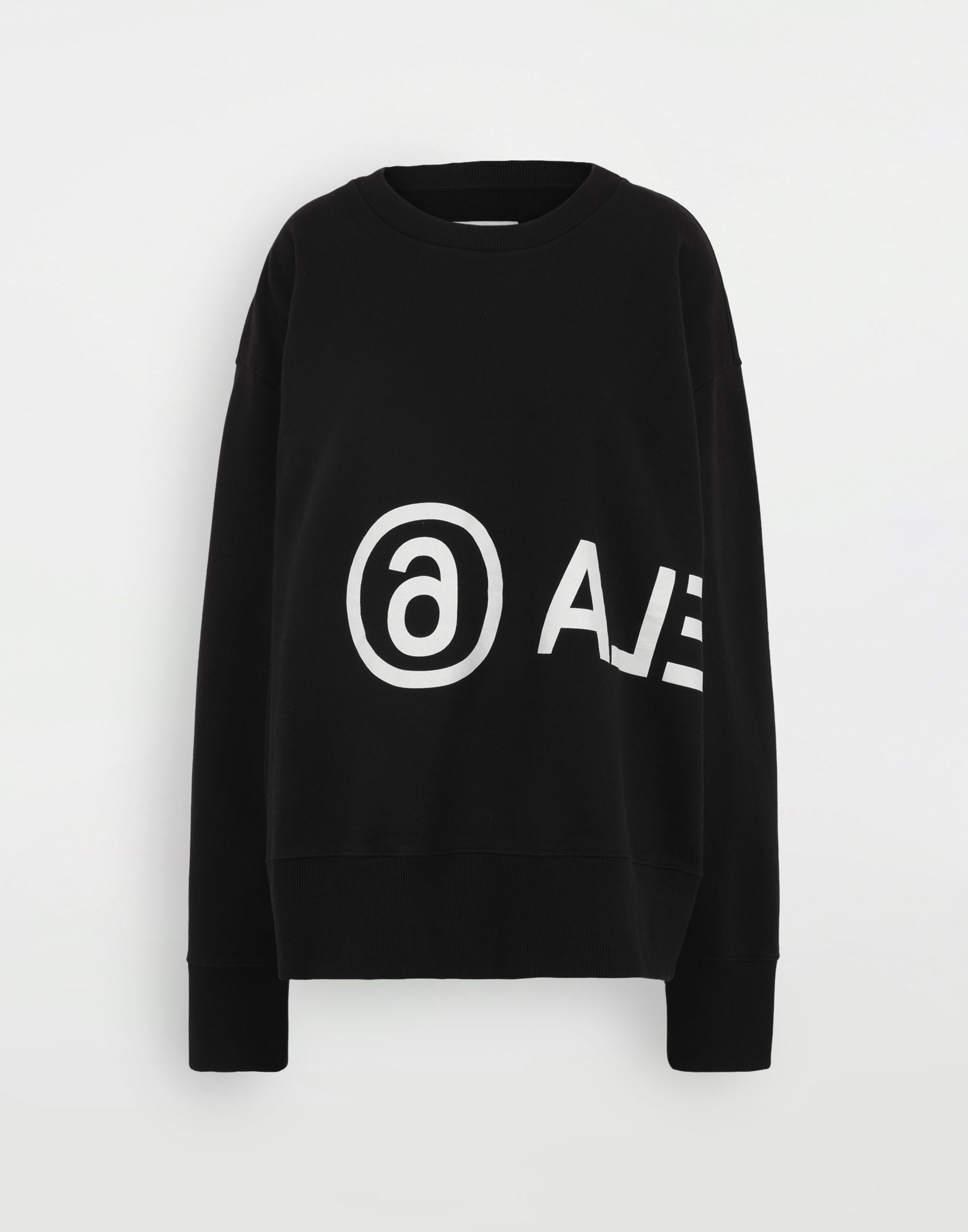 MM6 MAISON MARGIELA Reversed logo sweatshirt Sweatshirt Woman f