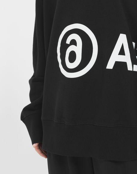 MM6 MAISON MARGIELA Reversed logo sweatshirt Sweatshirt Woman a