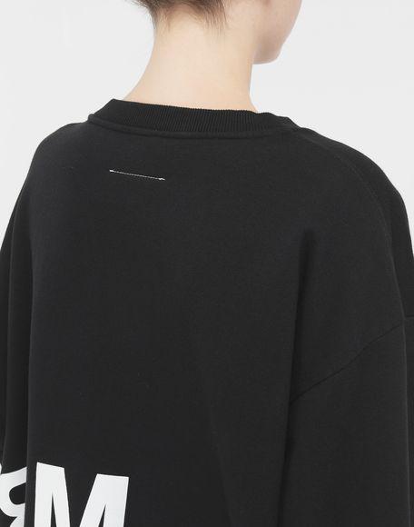 MM6 MAISON MARGIELA Reversed logo sweatshirt Sweatshirt Woman b