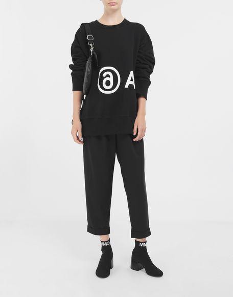 MM6 MAISON MARGIELA Reversed logo sweatshirt Sweatshirt Woman d