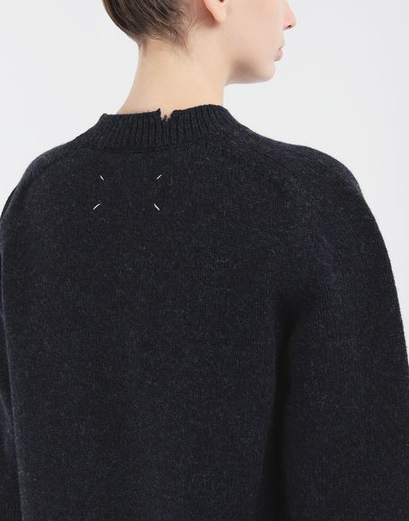 MAISON MARGIELA Destroyed wool sweater Crewneck Woman b