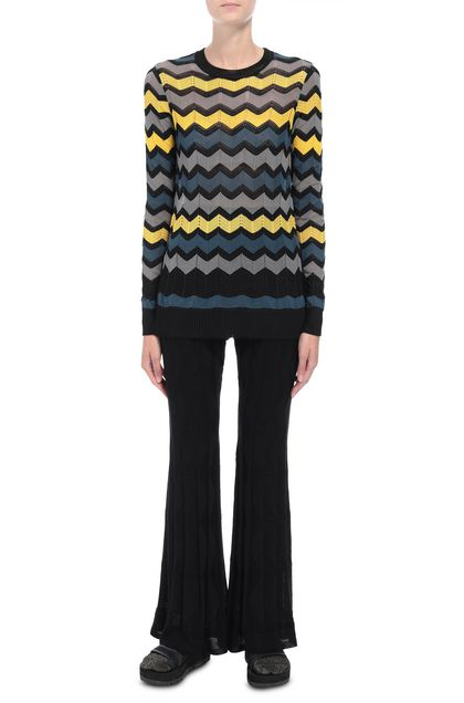 M MISSONI Crew-neck Black Woman - Back