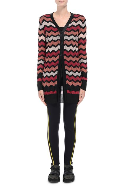 M MISSONI Cardigan Black Woman - Back