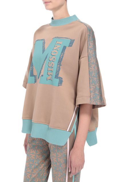 M MISSONI Sweatshirt Camel Woman - Front