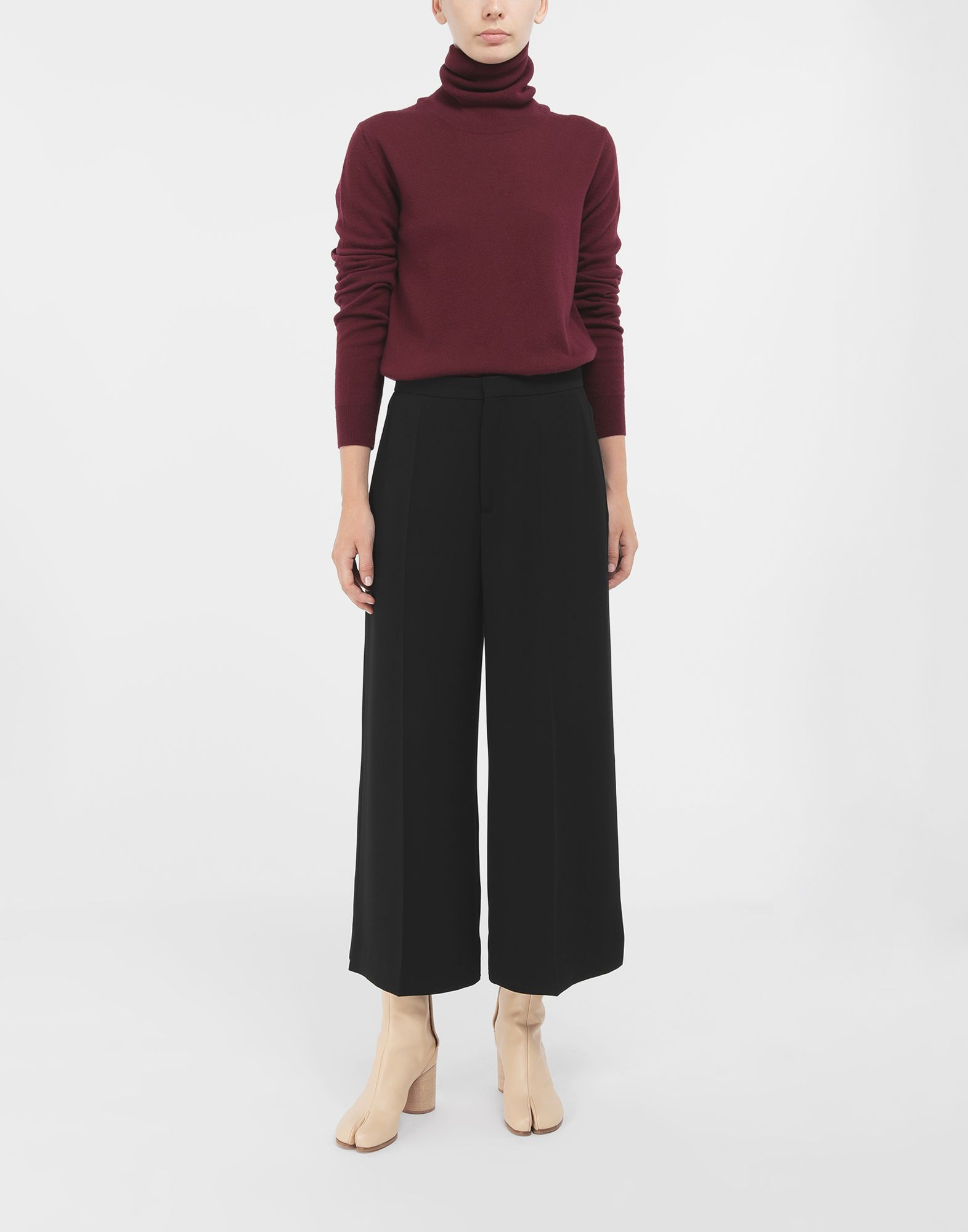 MAISON MARGIELA High-neck sweater High neck sweater Woman d