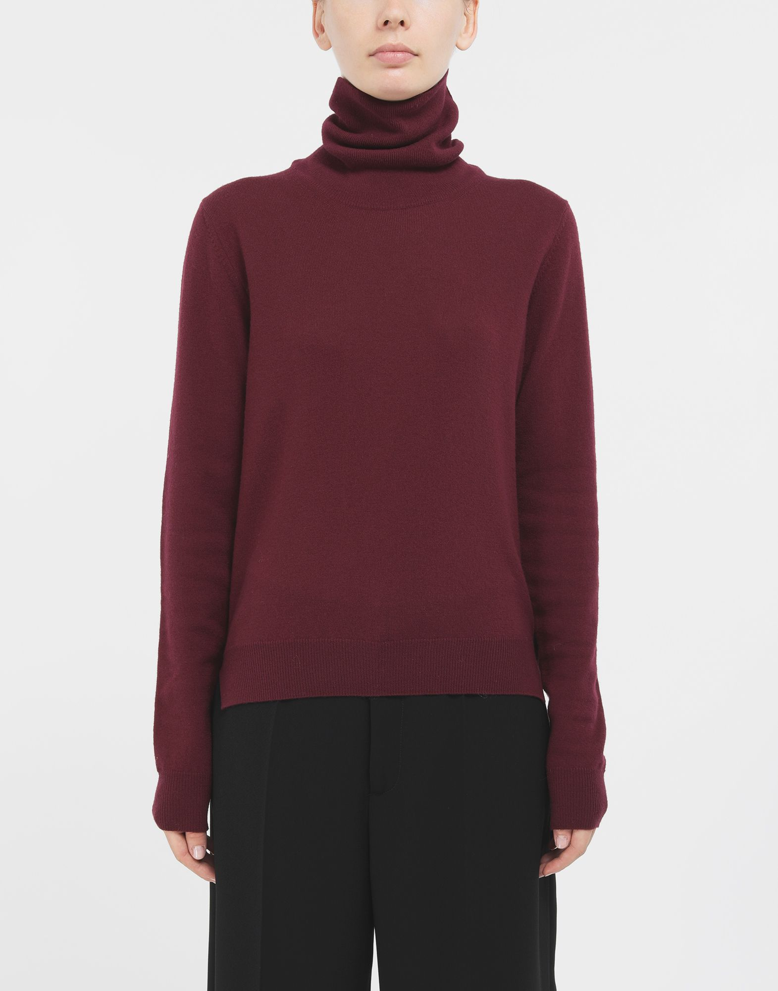 MAISON MARGIELA High-neck sweater High neck sweater Woman r