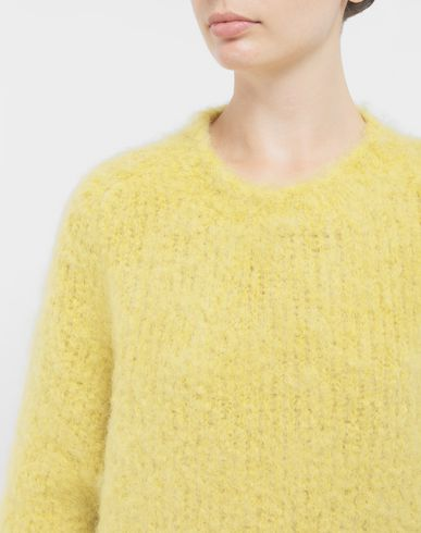KNITWEAR Mohair sweater Yellow
